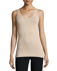 Minnie Rose Scoop Neck Jersey Essential Tank Driftwood