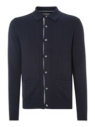 Peter Werth Men's Mission Knitted Cardigan Navy