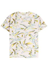 Emilio Pucci Printed Cotton T Shirt Multicolor