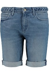 Mih Jeans Phoebe Denim Shorts Blue