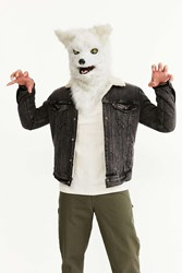 Urban Outfitters Talking White Wolf Mask