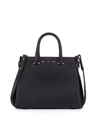 Vbh Boulevard 32 Lux Leather Tote Bag Black