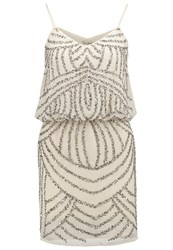 Lace And Beads Maple Jemma Cocktail Dress Party Dress Beige