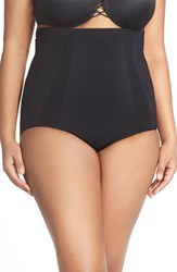 Plus Size Women's Spanx High Waist Shaping Briefs Very Black