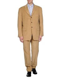 Belvest Suits And Jackets Suits Men Camel