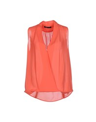 Guess By Marciano Shirts Blouses Women Coral