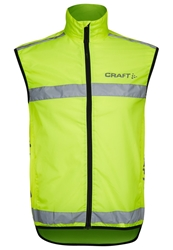 Craft Visibility Vest Waistcoat Yellow