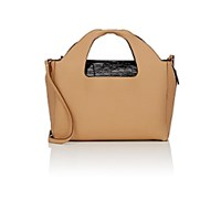 The Row Women's Two For One 12 Shoulder Bag And Pouch Tan