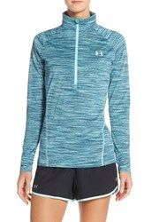 Women's Under Armour 'Tech' Space Dyed Pullover Veneer Metallic Silver