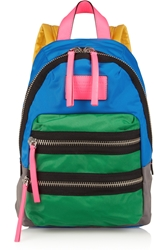 Marc By Marc Jacobs Loco Domo Color Block Canvas Backpack