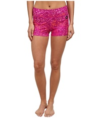 Hurley Dri Fit Volley Fit Compression Short Fuchsia Flash Women's Shorts Blue