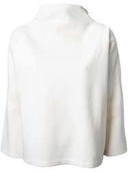 Nehera High Neck Jumper White