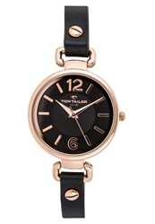 Tom Tailor Watch Schwarz Black