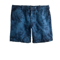 J.Crew 7' Stanton Short In Tie Dyed Floral Island Floral
