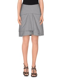 Gunex Skirts Mini Skirts Women Grey