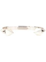 King Baby Studio King Baby Thick Pyramid Bangle Grey
