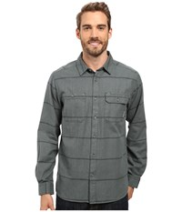 Mountain Hardwear Frequenter Stripe Long Sleeve Shirt Forest Men's Long Sleeve Button Up Green