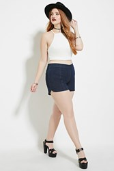 Forever 21 Plus Size Flat Front Shorts