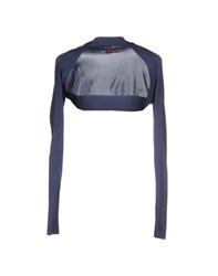 I'm Isola Marras Topwear Shrugs Women Slate Blue