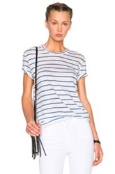 Iro Mina Tee In White Stripes