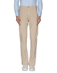 9.2 By Carlo Chionna Trousers Casual Trousers Men Beige