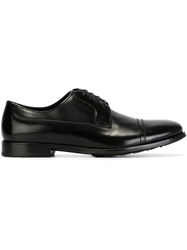 Dolce And Gabbana Classic Oxford Shoes Black
