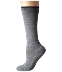 Smartwool Basic Knee High 3 Pack Medium Gray Women's Knee High Socks Shoes White