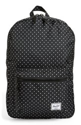 Herschel Supply Co. 'Settlement Mid Volume' Backpack Black Polka Dot