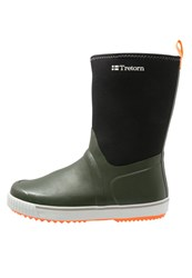 Tretorn Wings Neo Wellies Forest Green