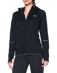 Under Armour Long Sleeve Zippered Hoodie Black