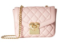 Love Moschino Quilted Envelope Crossbody Pink Cross Body Handbags