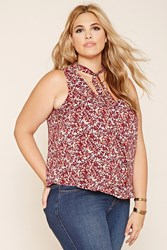 Forever 21 Plus Size Floral Print Tank