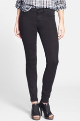 Halogen Plain Pocket Stretch Skinny Jeans Black