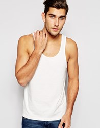 Asos Vest With Classic Fit White
