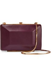 Marc By Marc Jacobs Two Tone Leather Clutch Red