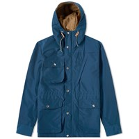 Battenwear Travel Shell Parka Blue