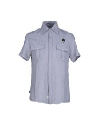 Blauer Shirts Shirts Men Sky Blue