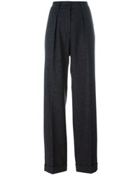 Maison Martin Margiela Mm6 Wide Leg Tailored Trousers Grey
