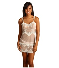 Wacoal Embrace Lace Chemise Natural Nude Ivory Women's Lingerie White