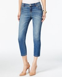 Inc International Concepts Regular Fit Cropped Leg Gardenia Wash Jeans Only At Macy's