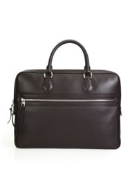Dunhill Leather Briefcase Black