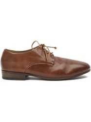 Marsa Ll Lace Up Derby Shoes Brown