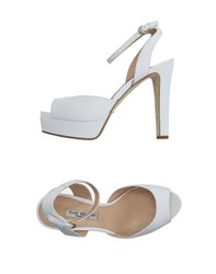 The Seller Footwear Sandals Women White