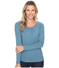 Royal Robbins Essential Tencel Crew Peninsula Women's Long Sleeve Pullover Blue