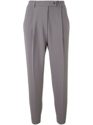 Eleventy Relaxed Fit Trousers Grey