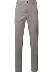 Pt01 Stretch Tailored Trousers Grey