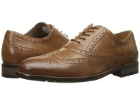 Nunn Bush Tj Wingtip Oxford Tan Men's Lace Up Wing Tip Shoes