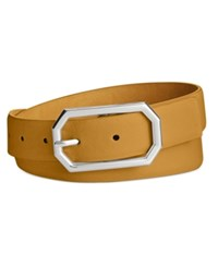 Styleandco. Style Co. Octagonal Buckle Pant Belt Only At Macy's Tan