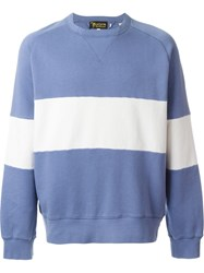 Levi's Vintage Clothing '1950'S' Crew Neck Sweatshirt Blue