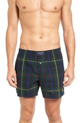 Polo Ralph Lauren Men's Cotton Boxers Holiday Green Plaid